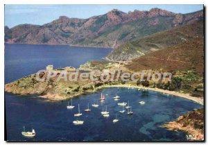 Postcard Modern Girolata Tourist Location Very Appreciated access By The Sea
