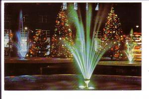 Christmas Tree Decorations at Fountian, Gore Park, Hamilton, Ontario,