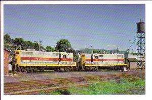 Railway Train, Erie-Lackawanna Railroad, Bangor, Pennsylvania