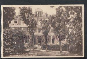 Channel Islands Postcard - Guernsey - Hauteville House, Victor Hugo RS17534
