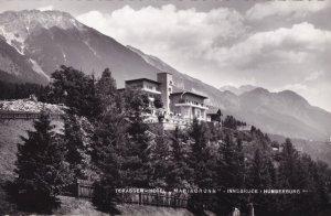 Schlob Ambras Mit Bettelwurf Old Austria Hotel Postcard