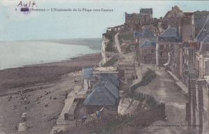 AULT , Somme , France 1914-18 ; L'Esplanade de la Plage vers Cayeux