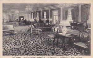 The Lobby Dearborn Inn Dearborn Michigan Albertype