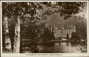Dixville Notch White Mountains NH The Balsams Real Photo Postcard Used 1931