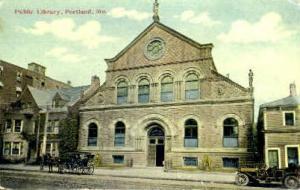 Public Library Portland ME 1911