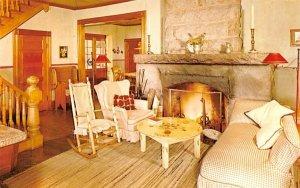 Great Fireplace Blue Mountain Lake, New York Postcard