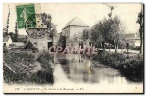 Postcard Old water mill mill of Abbeville Bouvacque