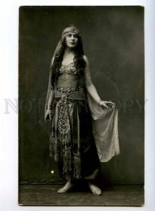 243464 Russian BALLET Star BELLY DANCER Vintage PHOTO PC
