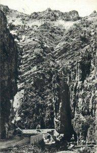 Romania carte postala Runcu Gorj Cheile Sohodolului peisaj montan