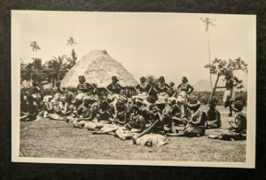 Mint Vintage Native Women Apia Samoa Real Photo Postcard RPPC