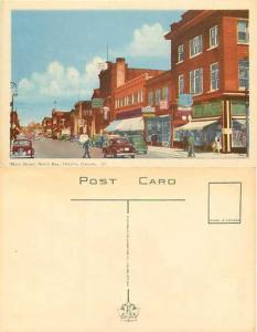 Main Street, North Bay, Ontario, Canada, PECO White Border