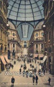 Galleria Vittorio Emanuele Milano, Italy Writing on back