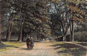 Waldoboro Maine Lovell Street Scene Antique Postcard K46234