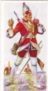Carreras Vintage Cigarette Card Naval Uniforms No 48 Royal Marines 1755