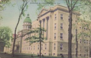 SAINT HYACINTHE, Quebec, Canada, 1930-1940's; Seminaire
