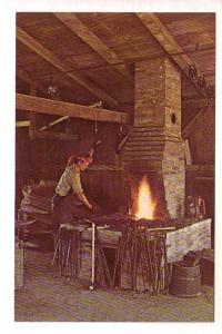 Jesse Hoover, Blacksmith, Herbert Hoover Presidential Library, West Branch, I...