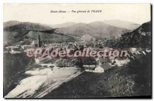 Old Postcard Thann Vue Generale