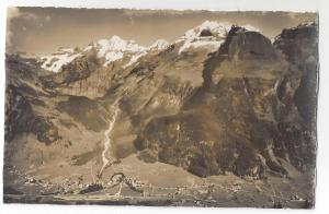 RPPC Switzerland Kandersteg Blumlisalp Doldenhorn Alps