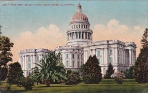 Rear View State Capitol Sacramento California