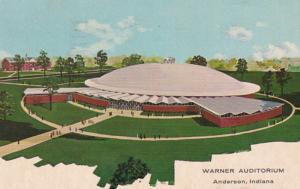 Indiana Anderson The Warner Auditorium 1962