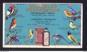 Terre Haute, IND. USA Larrison's - Wampole's Tonic various named bi...