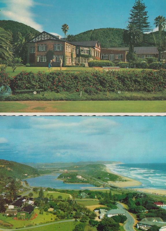 Wilderness Hotel Miniature Golf Course + Birds Eye Aerial South Africa Postcard