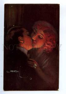 234534 KISS of Lovers in Fire By USABAL Vintage #1249 PC