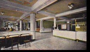 Iowa Davenport Hotel Kimball Lobby