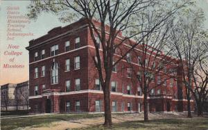 Exterior,Sarah Davis Deterding Missionary Training School,Indianapolis,Indian...