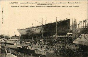 CPA ST-NAZAIRE Chantiers de Penhoet. LA PROVENCE (864373)