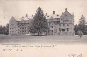 POUGHKEEPSIE, New York, PU-1906; Lathrop Dormitory, Vassar College