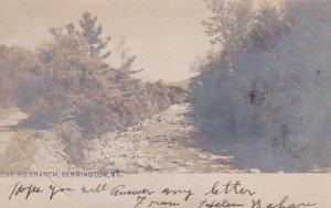 RP: BENNINGTON, Vermont , PU-1906; Roaring Branch