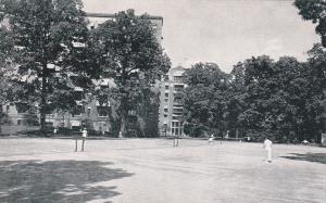 Washington D.C. , 50-60s ; Tennis Courts, Wardman Park Hotel