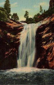 Colorado Colorado Springs South Cheyenne Canon Seven Falls Bridal Veil Falls ...