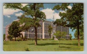 Savannah MO, Dr Nichols Sanatorium, Missouri Linen c1949 Postcard