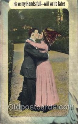 Couples, Lover, Lovers, Postcard, Postcards