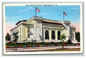 Vintage 1937 Postcard Panoramic View Pan-American Union Building Washington DC