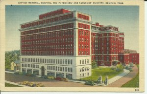 Memphis, Tennessee, Baptist Memorial Hospital And Physicians And Surgeons Bldg.