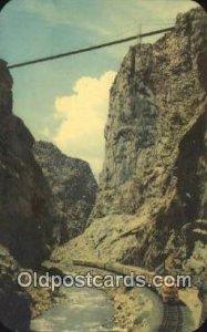 Royal Gorge, Colorado, CO USA Trains, Railroads Unused