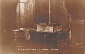 uk22314 queen marys workbox holyrood palace scotland real photo uk