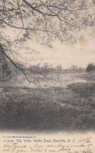 CHARLOTTE , North Carolina , 00-10s , City Water Works Pond