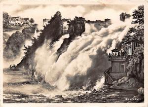 Switzerland Gross-Restaurant fur alle Ansprueche Waterfall