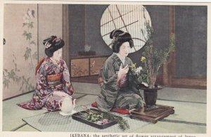 IKEBANA ; Flower Arrangement , Japan , 20-40s