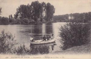 ENVIRONS DE TOURS, Savonnieres, Paysage sur le Cher, France, 00-10s