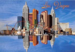 USA Las Vegas New York Hotel Casino Panoramic view Miniature Statue
