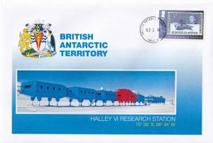 Halley VI Research Station British Antarctic Territory Stamp FDC First Day Cover