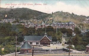 Soda Springs and Cliff House, MANITOU, COLORADO, PU-1909