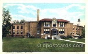 Tuberculosis Hospital Lima, OH, USA Postcard Post Cards Old Vintage Antique 1944