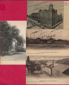 Lot of 4 Pennsylvania PA Postcards - HL-02