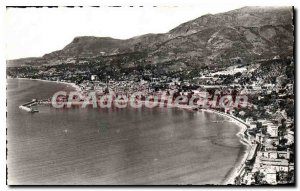 Old Postcard Menton General view